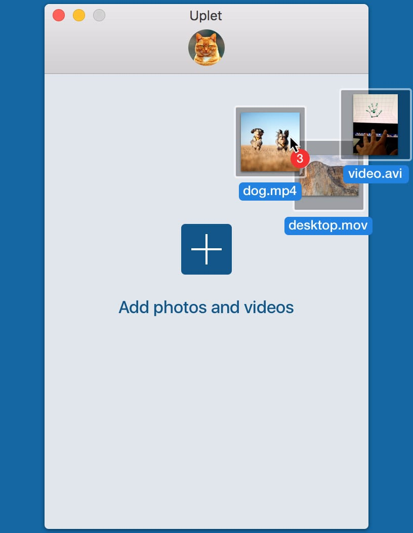 Instagram video uploader for Mac - Uplet app